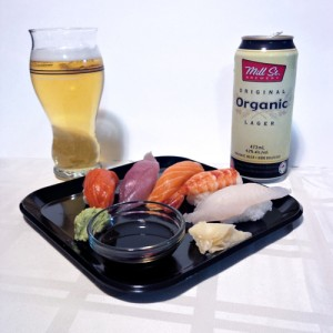 Sashimi and Lager