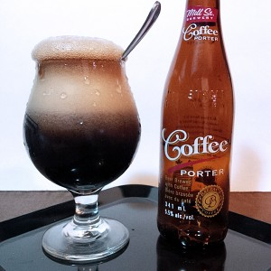 Coffee Porter and Vanilla Ice Cream
