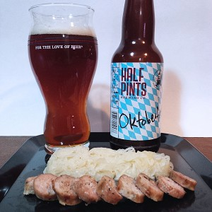 Sausage and Oktoberfest Beer