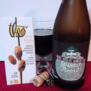 Chocolate & Beer - Cranberry Stout & Salted Almond Chocolate