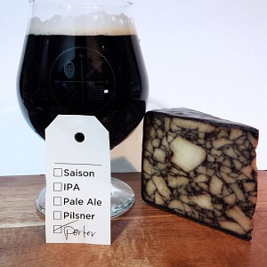 St Patricks Day Beer Infused Cheese & Porter
