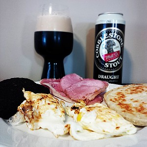 St Patricks Day Breakfast Stout and Irish Breakfast