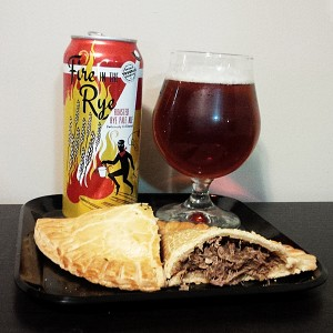 St Patricks Day Rye Pale Ale and Irish Pasty