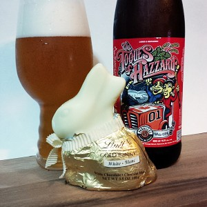 Easter Treats White Chocolate Bunny and White IPA